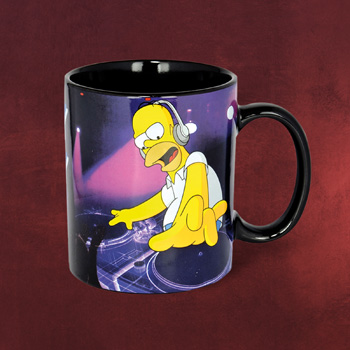 Simpsons DJ Homer Tasse