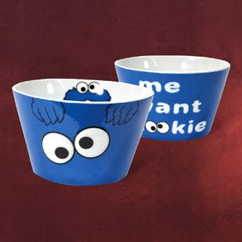 Sesamstra�e - Cookie Monster M�slischale