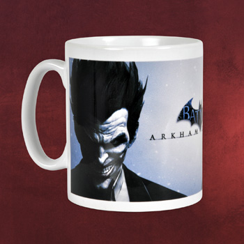 Batman - Arkham Origins Joker & Batman Tasse