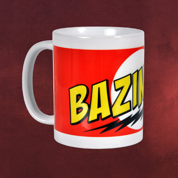 Big Bang Theory - Bazinga Red Tasse