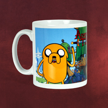 Adventure Time - Finn und Jake Tasse