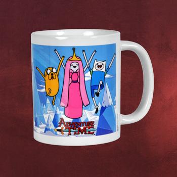 Adventure Time - Princess, Jake & Finn Tasse