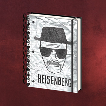 Breaking Bad - Heisenberg Notizbuch