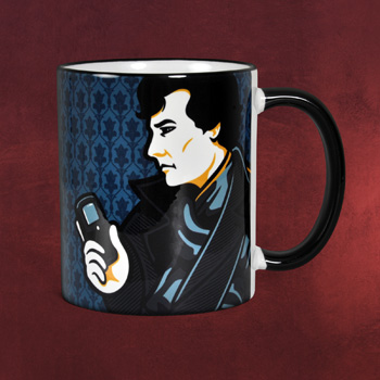 Sherlock Smiley Face - Tasse