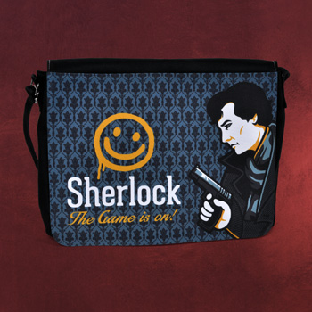Sherlock Smiley Face - Tasche