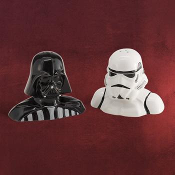 Star Wars - Darth Vader und Stormtrooper Salz & Pfefferstreuer
