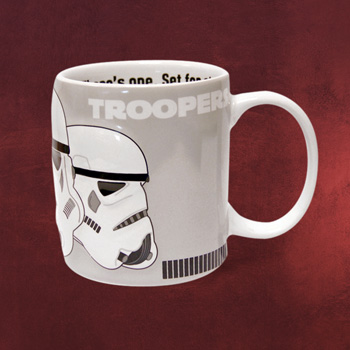 Star Wars - Stormtrooper Relieftasse
