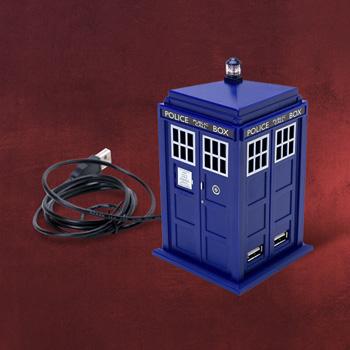 Doctor Who - Tardis USB Hub mit Licht und Sound