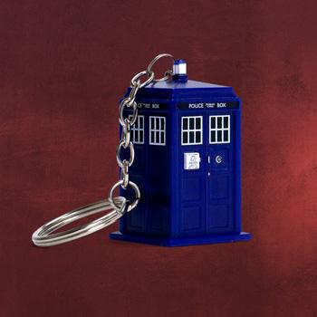Doctor Who - Tardis Schl�sselanh�nger mit Licht