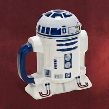 Star Wars - R2-D2 Keramiktasse mit Deckel