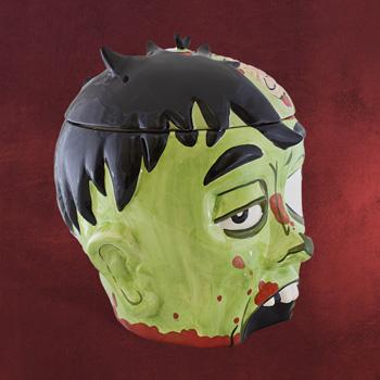 Zombie Gruselkopf Keksdose Halloween