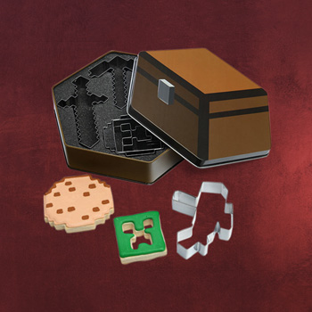 Minecraft - Keksdose mit Ausstechformen