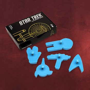 Star Trek Cookie Ausstechformen Set