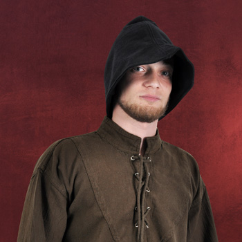 Hut Robin Hood Style schwarz