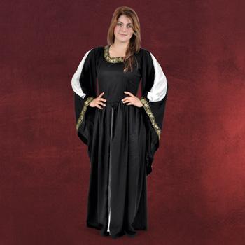 Mittelalter Kleid Leila schwarz
