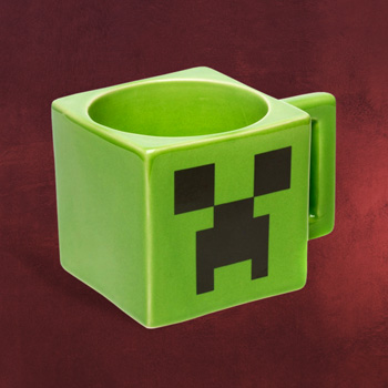 Minecraft - Creeper Face Tasse