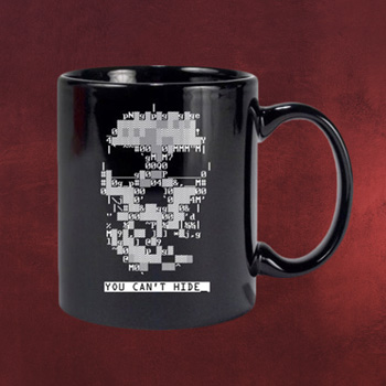 Watch Dogs - Skull Thermoeffekt Tasse