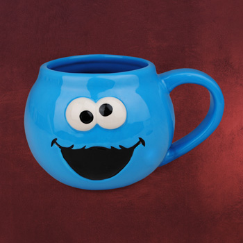 Sesamstra�e - Cookie Monster XXL Tasse