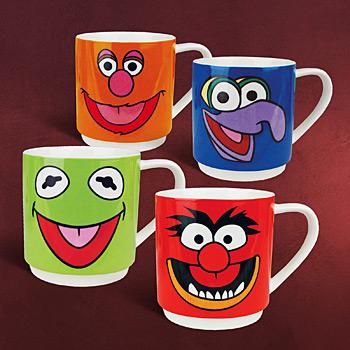 Muppets - Tassen Set