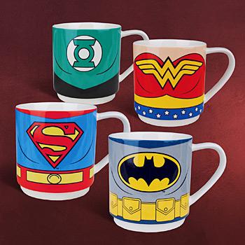 Justice League - Tassen Set