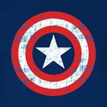 Captain America Shield T-Shirt navy