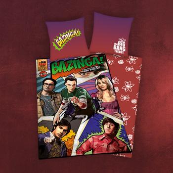 Big Bang Theory - Comic Wende-Bettw�sche