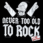 Simpsons - Homer Never Too Old To Rock T-Shirt