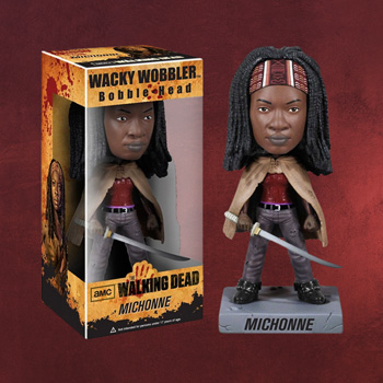 Walking Dead - Michonne Wackelkopf-Figur