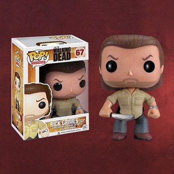 Walking Dead - Rick Grimes Mini-Figur