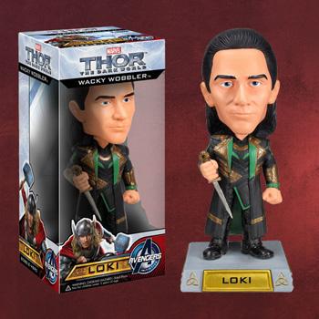 Thor - Loki Wackelkopf-Figur