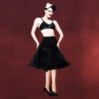 Petticoat - Unterrock schwarz