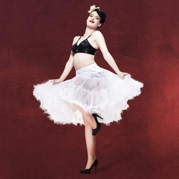 Petticoat - Unterrock weiß