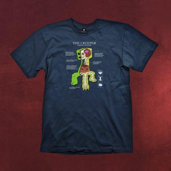 Minecraft - Creeper Anatomy T-Shirt