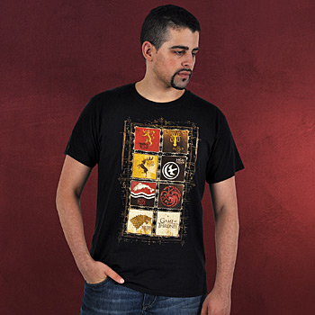 Game of Thrones - Wappen T-Shirt