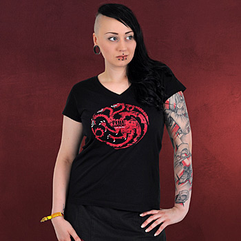 Game of Thrones House Targaryen Girlie Shirt
