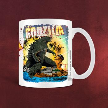 Godzilla - Comic Tasse