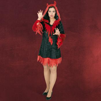 Teufelin Kostüm Damen