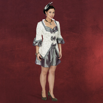 Barock Kleid Kameliendame