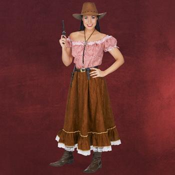 Cowgirl Kost�m Damen