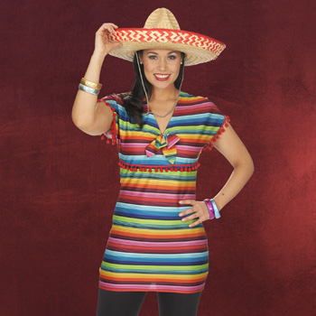 Mexican Girl Kost�mkleid