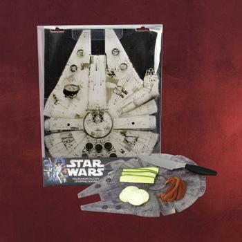 Star Wars - Millenium Falcon Schneidebrett