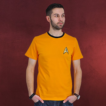 Star Trek - Kirk Uniform T-Shirt gelb