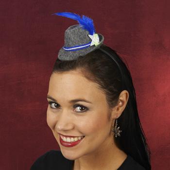 Haarreif mit Mini-Trachtenhut