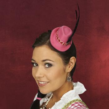 Mini-Trachtenhut mit Haarclip