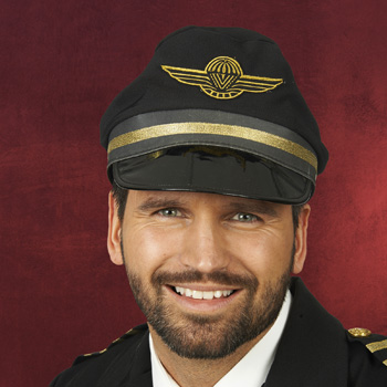 Piloten Kappe