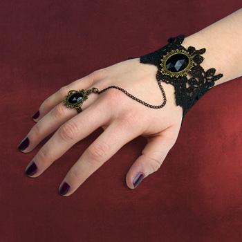 Armband-Ring Kameliendame