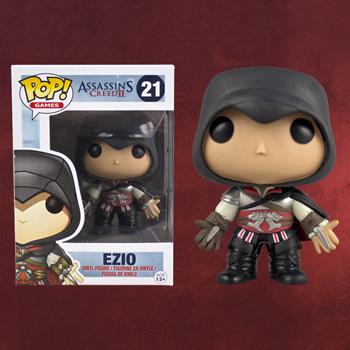 Assassins Creed II - Ezio Mini-Figur schwarz