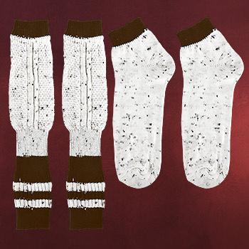 Trachten Wadenwärmer und Socken