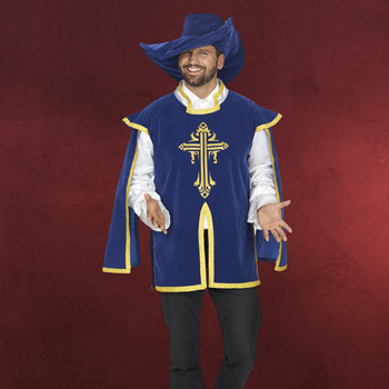 Musketier Umhang mit Hut
