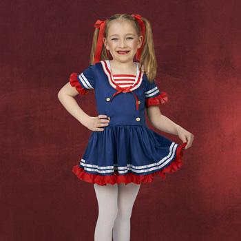 Sailor Girl Kinderkost�m